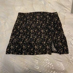 Shein floral skirt